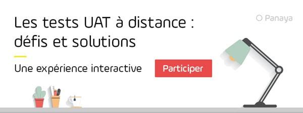 Les tests UAT à distance